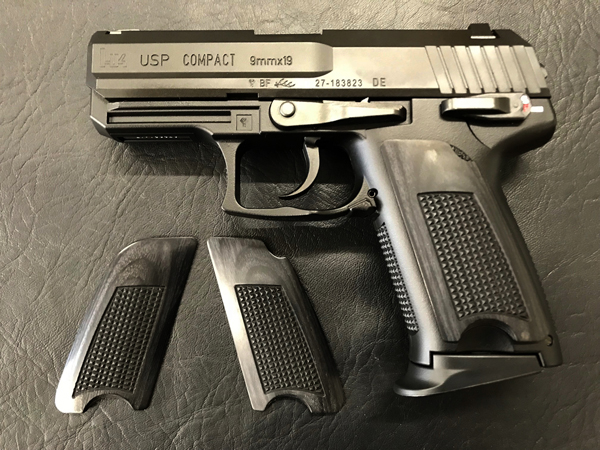 ウッドグリップ USP Compact <チェッカー/ブラック>