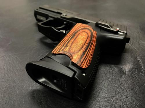 Wood grip USP Compact <Smooth / Brown>