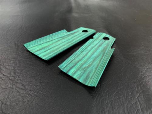 Wood grip Hi-CAPA 5.1 / 4.3 <Smooth / Green>