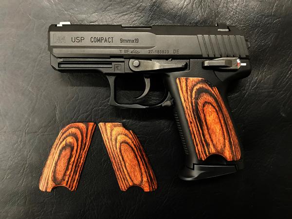 ウッドグリップ USP Compact <スムース/ブラウン>